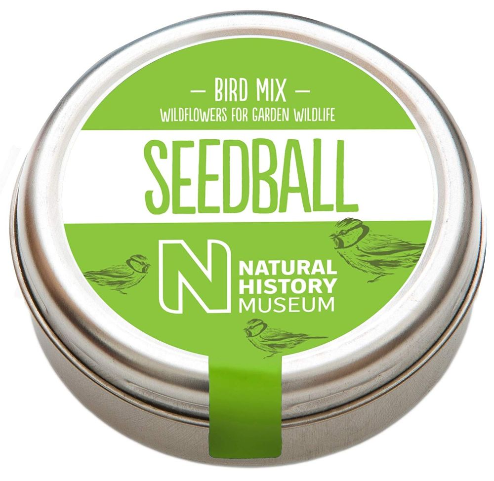 Seedballs - Natural History Museum Bird Mix